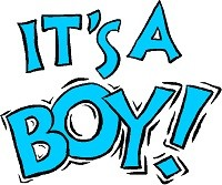 Breaking News from Joeyisalittlekid Gang of sick cyberstalkers: It's a Boy!