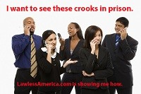 Record Audience for Lawless America Show about filing Criminal Charges against Corrupt Judges and Government Officials