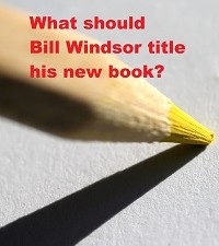 What should Bill Windsor title his new book?