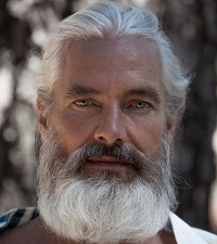 Everyone in Montana has gray hair and a gray beard...even the women