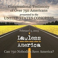 Lawless America Show with William M. Windsor - Sunday February 3, 2013 from 10-midnight Eastern Time