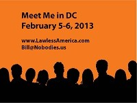 Meet Me in DC on February 5-6, 2013 to present Testimony to Congress -- RSVP's Needed NOW