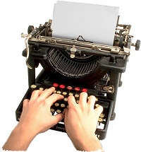 antypew3 hp old typewriter 200w